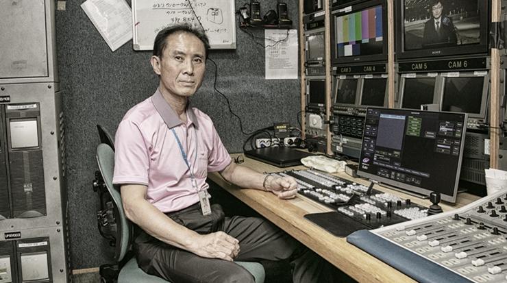 [B컷 사진관] (7) 영원한 방송기술인 민병오