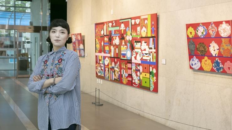 부귀영화 그림으로 복을 전해요!…화가 김민수