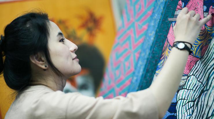 [아틀리에 산책] 김보미의 '세탁선'을 만나다