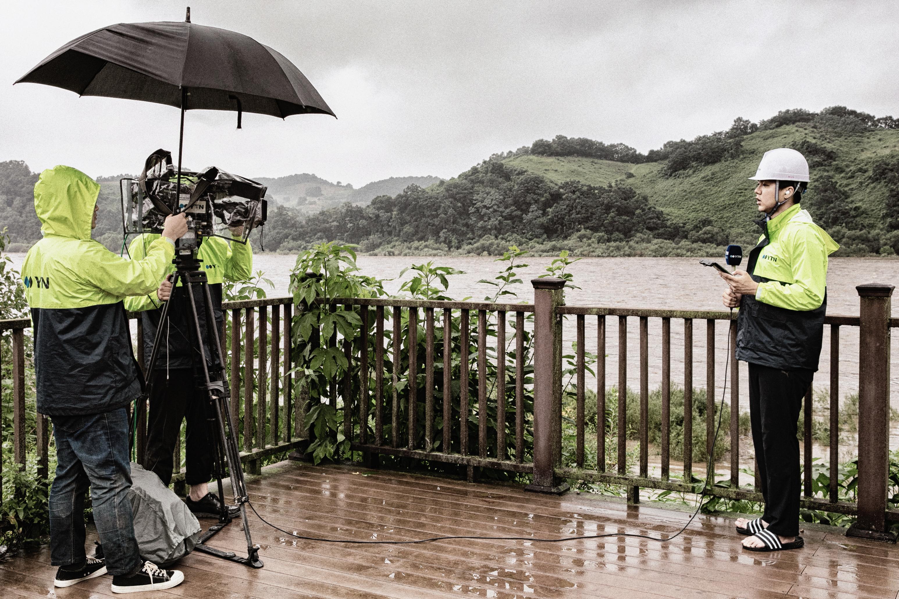 [B컷 사진관] 수해 취재현장 - 연천군 군남댐
